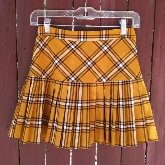 4e1ca6df01283 Forever 21 Dresses   Skirts - 90 s Clueless Plaid Pleated Schoolgirl Skirt
